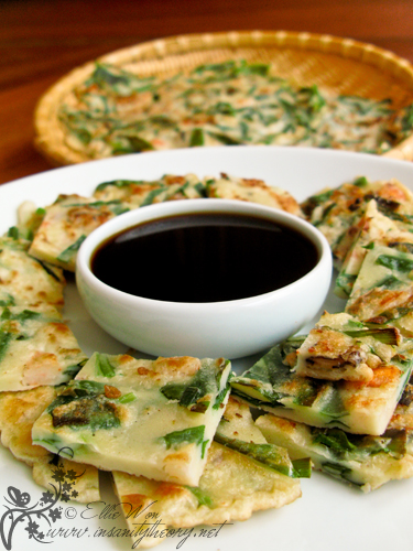 Pajeon (파전) – Green Onion Pancake